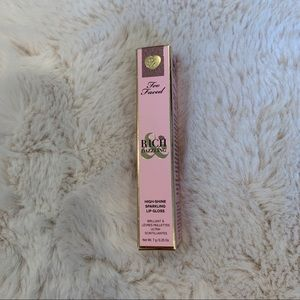 New Too Faced Lipgloss